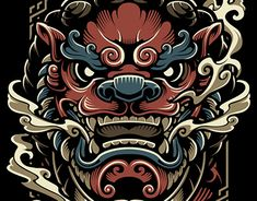 tattoos in japanese prints Japanese Tattoo Art, Japanese Tattoo Designs, Japanese Sleeve Tattoos, Japanese Art, Foo Dog Tattoo Design, Sketch Tattoo Design, Asian Tattoos, Chinese Tattoos, Fu Dog
