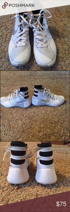 Nike HyperDunk Basketball Shoes Only worn one season, excellent condition. Nike Shoes Athletic Shoes