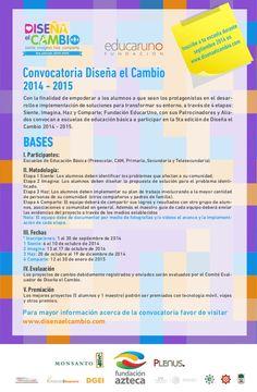 Convocatoria a concurso de proyectos entre colegios de México de Fundación educativa.#educacion #convocatorias escolares