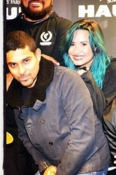 Demi Lovato and Wilmer and friends at Knotts Scary Farm
