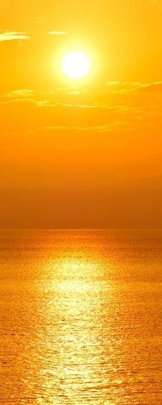 Golden Orange sunset ✿⊱╮