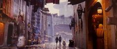 "IS DUBROVNIK THE ""EXOTIC CITY"" FROM THE FORCE AWAKENS CONCEPT ART?"