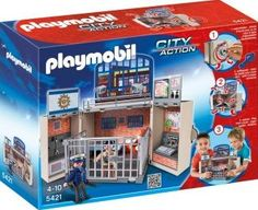 PLAYMOBIL® My Secret Play Box - Police Station, No. 5421 Details : The chest opens with a key, unfolds for play and can be stored easily, 2 Characters, Numerous playing areas: cell, office, hall of arms, Theme: City Action Age : Age 4 and upwards http://www.comparestoreprices.co.uk/january-2017-7/playmobil®-my-secret-play-box--police-station-no-5421.asp