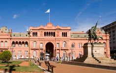 Weltreise Bauhistorische Symbole der Macht Casa Rosada Argentinien