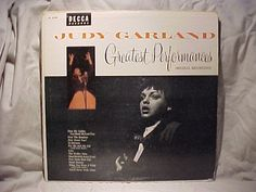 Judy Garland Great Performances LP DL 8190 by TheVintageRecordStop