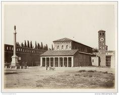 Basilica San Lorenzo al Verano Circa 1875