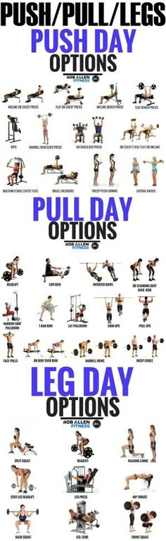 Push/Pull/Legs Weight Training Workout Schedule For 7 Days Do you want monster legs? Then look no further.here we have the push pull workout, this especially focuses on the different movement of your muscles and how you can r Fitness Workouts, 6 Pack Abs Workout, Weight Training Workouts, Workout Schedule, Fitness Tips, Health Fitness, Training Schedule, Workout Plans, Barre Workouts