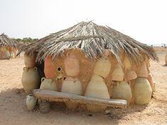 Pottery hut Tunisia