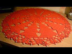 Centrino natalizio - crochet - YouTube