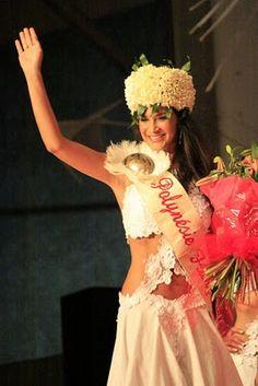 MISS TAHITI WORLD 2010