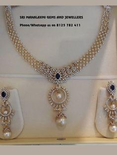 Diamond Necklace Simple, Gold Jewelry Simple, Diamond Pendant, Modern Jewelry, Diamond Earrings, Gold Necklace, Diamond Jewellery, Jewellery Earrings, Bridal Jewellery