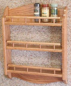Spice rack that I would alter a little.