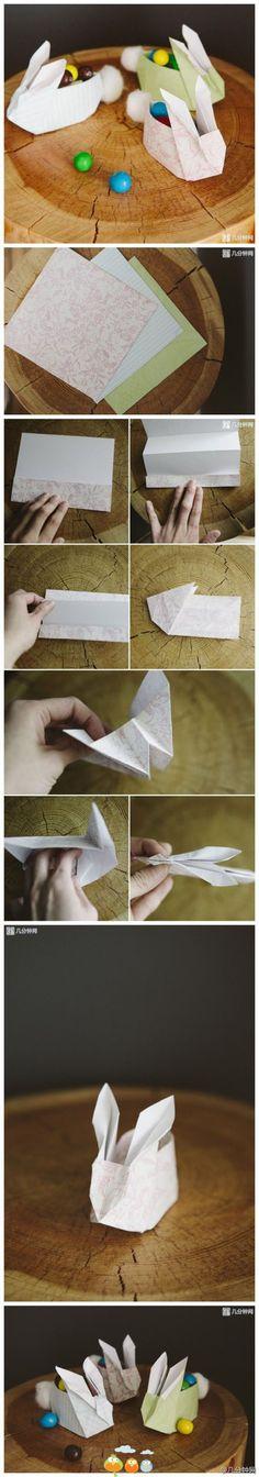 origami flower box