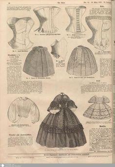 -patterns from der bazar- – The Frock Chick Der Bazar > VI. Vintage Corset, Victorian Corset, Victorian Fashion, Vintage Fashion, Historical Costume, Historical Clothing, Viktorianischer Steampunk, Civil War Fashion, Civil War Dress