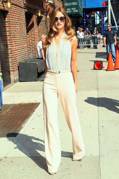 Rose Huntington Whiteley- wish I could find these pants!!