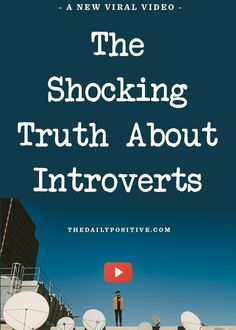The Shocking Truth About Introverts