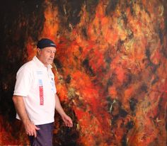 FIRE Saatchi Art, Original Paintings, Canvas, Fire, Tela, Canvases