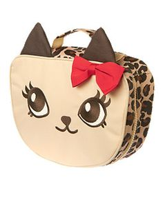 Leopard Kitty Lunchbox Gymboree #ValleyWestMall for #Back-to-School