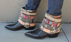 DYI belted boots