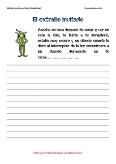 Spanish Classroom, Teaching Spanish, Spanish Worksheets, Ap Spanish, Writing Activities, Writing Prompts, Vocabulary, Homeschool, Language