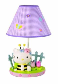 Hello Kitty Spring Bee Lamp - puuurrrrfect for Spring!