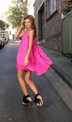 hot pink @Allie Serisky ya like this pink? haha