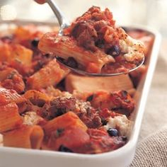 Baked Rigatoni with Ricotta and Sausage | Williams-Sonoma