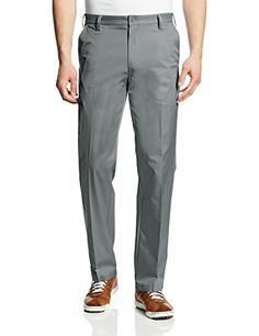 adidas Golf Mens Puremotion Flat Front Pant Lead 32x32