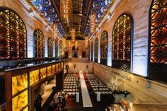 Union Trust Building In Philadelphia Has Soaring Sixty Five Foot Illuminated Engraved Ceilings Architecturally Accented Walls Multiple Private Rooms