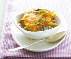 Cibulačka podle Jamieho Olivera (www.albert.cz/recepty) Thai Red Curry, Ethnic Recipes, Food, Diet, Eten, Meals