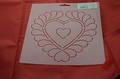 Stencil-Quilt-Art-878-Feathered-Heart-Block-7