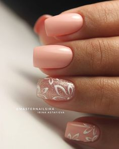 False nails have the advantage of offering a manicure worthy of the most advanced backstage and to hold longer than a simple nail polish. The problem is how to remove them without damaging your nails. Simple Wedding Nails, Wedding Nails Design, Simple Nails, Simple Elegant Nails, Trendy Wedding, Pink Wedding Nails, Elegant Nail Art, Wedding Shoes, Wedding Ideas