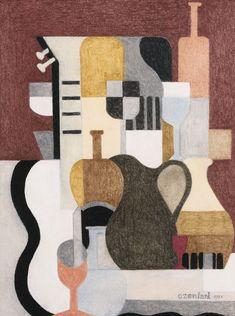 ozenfant, amédée nature morte p Line Sketch, Geometric Art, Pastel, Art Day, Impressionist, Insta Art, Still Life, Modern Art, Abstract Art