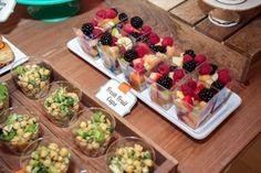 Boys Baking Birthday Party Fresh Fruit Salad Food Ideas