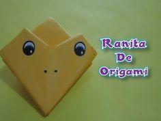 Ranita de origami