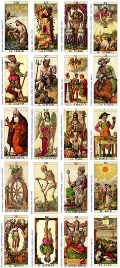 "from the ""Ancient"" Italian Tarot Wicca, Magick, Witchcraft, Alchemy, Tarrot Cards, Vintage Tarot Cards, Tarot Tattoo, Fortune Telling Cards, Tarot Card Decks"