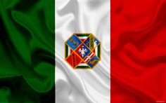 Download wallpapers Lazio Coat of Arms, administrative area, Italy, Italian flag, national symbols, Lazio, flag of Italy