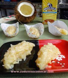 Receitas Culinárias: COCADA COM LEITE CONDENSADO