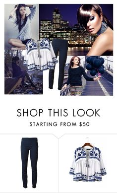 """""""Open your arms"""" by mssantos ❤ liked on Polyvore featuring H&M, Tory Burch, WithChic, Clairol, women's clothing, women's fashion, women, female, woman and misses"""
