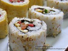 More homemade sushi!