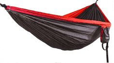 QUALITY, STRENGTH, LIGHTWEIGHT AND EASE-OF-USE: Base Camp Outfitters Double Camping Hammock, Two-person, Durable Nylon Parachute Hammock for Outdoors, Backpacking, Hiking, Fishing, Home, Beach. Heavy Duty Tree Ropes and Steel Carabiners Included. - All Items In Tools And Home Improvement Category Today Interest
