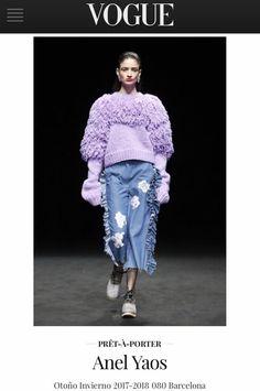 Vogue España Fashion Show ODAXELAGNIA Womenswear Fall 18 by Anel Yaos 080 Barcelona Fashion TNC 💊 💥💊💥💊💥💊💥💊 Boots 👢 Eferro Accessories 🐸 Fatima Beltran Music 🎼 VIDEOGIM 🤖🤡👾🔫💋👅💄🔮👑 http://www.vogue.es/desfiles/otono-invierno-2017-2018-080-barcelona-anel-yaos/13527