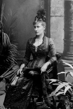 "Grand Duchess Elisabeth Feodorovna Romanova of Russia.  ""AL"""