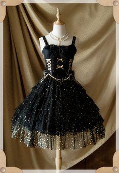 Reminder: The Pre-order for [-★-Mist Starry Sky Lolita JSK-★-] will END Tomorrow >>> http://www.my-lolita-dress.com/belle-langue-mist-starry-sky-lolita-jumper-dress-bl-1