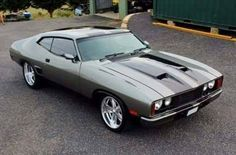 """The very popular Camrao A favorite for car collectors. The Muscle Car History Back in the and the American car manufacturers diversified their automobile lines with high performance vehicles which came to be known as """"Muscle Cars. Australian Muscle Cars, Aussie Muscle Cars, American Muscle Cars, Ford Falcon, Jet Packs, Mad Max, Ford Classic Cars, Cute Cars, Ford Gt"""