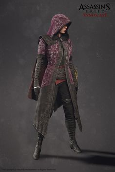Evie Frye Outfit - Assassin'S Creed Syndicate Did the body.. Head and cloak were done by other teammates.