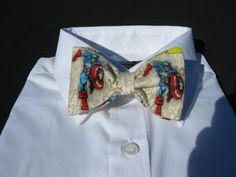 $22.99 Captain America Bow Tie. Very Dapper!