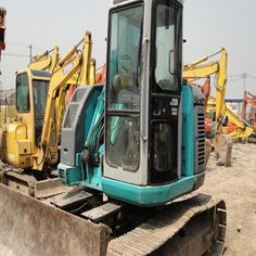 The used excavator types are more according to operation modes. So, we know, for a certain project, corresponding suitable machine should be. Used Excavators, Komatsu Excavator, You Now, New Shows, Being Used, Type