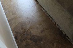 Paperbag flooring.