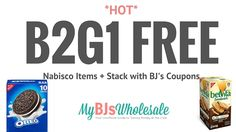 *HOT* B2G1 FREE Nabisco Products Coupon + Deal Scenarios at BJ's - http://www.mybjswholesale.com/2016/07/hot-b2g1-free-nabisco-products-coupon-deal-scenarios-bjs.html/